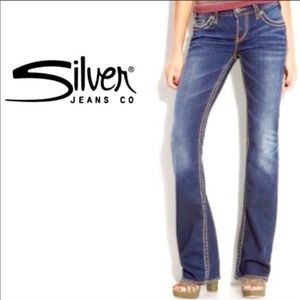 Silver Jeans Aiko Boot Cut Medium Wash Jeans SZ 26